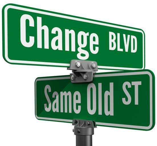 change same old c