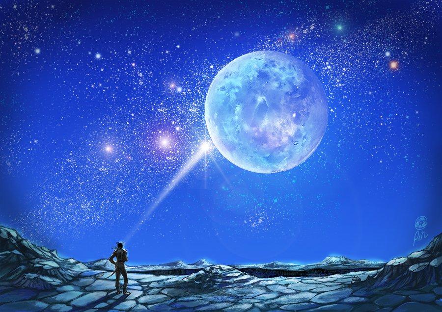 Full Moon blastoff